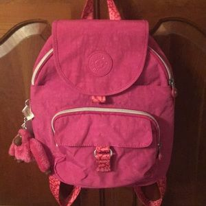 Kipling backpack with charm